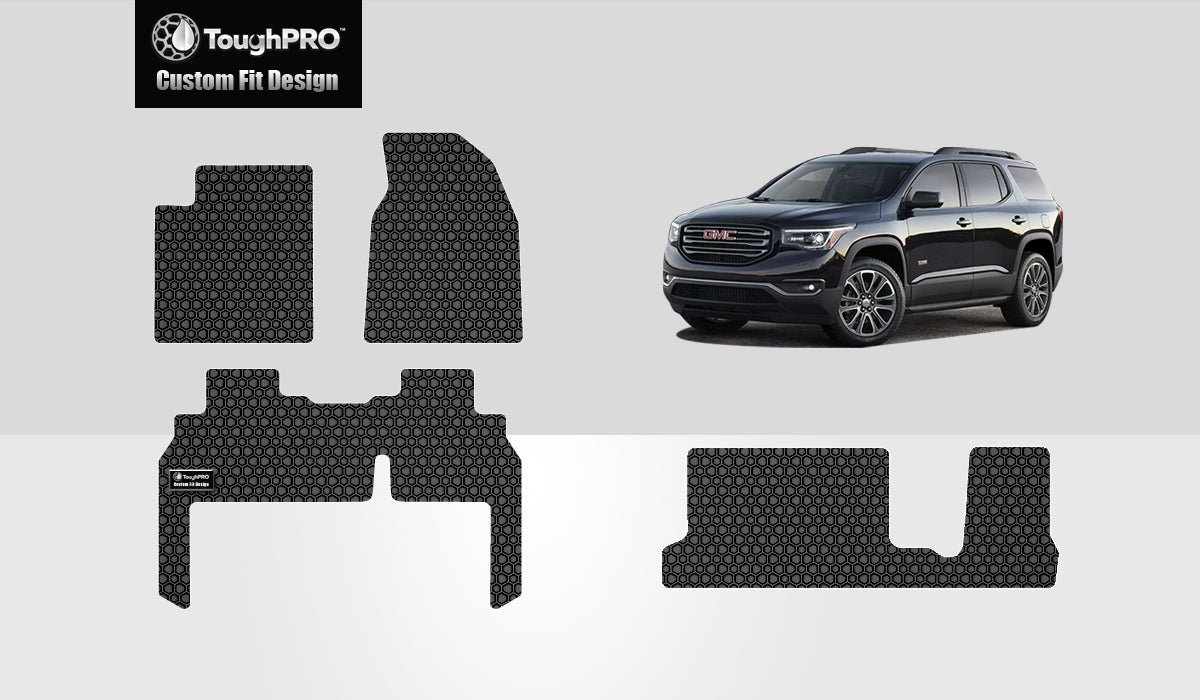 GMC Acadia Denali 2015 Front Row  2nd Row  3rd Row 2nd Row  BENCH SEATING