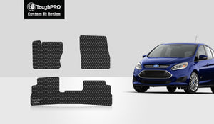 FORD Cmax 2016 Floor Mats Set