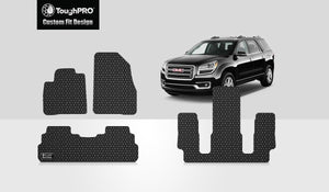 GMC Acadia 2019 Front Row 2nd Row 3rd Row (2nd Row BUCKET SEATS)