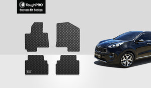 KIA Sportage 2017 1st & 2nd Row Mat Set