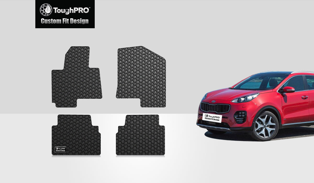 KIA Sportage 2014 1st & 2nd Row Mat Set