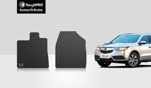 ACURA MDX 2015 Two Front Mats