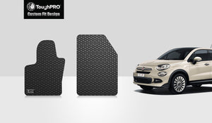 FIAT 500X 2017 Two Front Mats