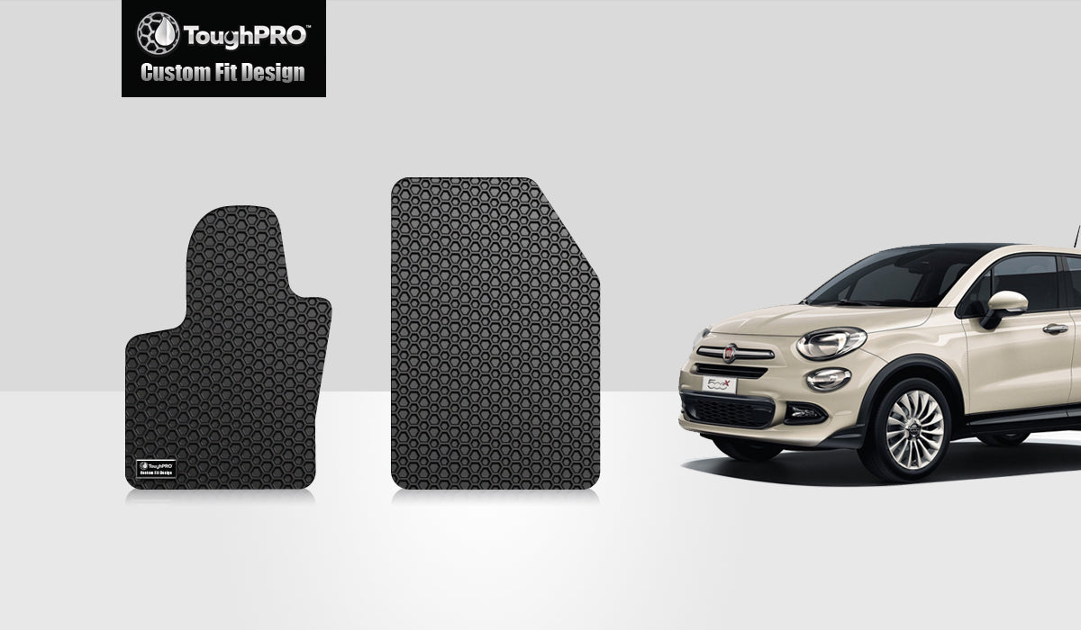 FIAT 500X 2015 Two Front Mats