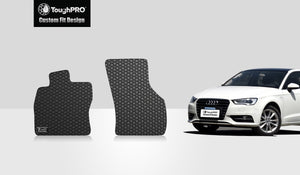 AUDI S3 2016 Two Front Mats