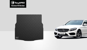 MERCEDES-BENZ C43 AMG 2019 Trunk Mat Sedan Model