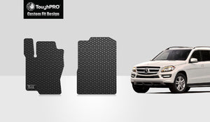 MERCEDES-BENZ GLS550 2017 Two Front Mats
