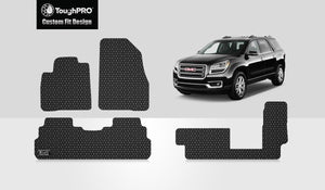 GMC Acadia 2018 Front Row  2nd Row 3rd Row (2nd Row BENCH SEATS)