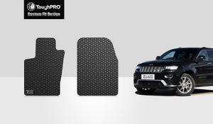 JEEP Grand Cherokee 2013 Two Front Mats