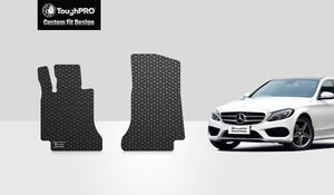 MERCEDES-BENZ C250 2015 Two Front Mats Sedan Model