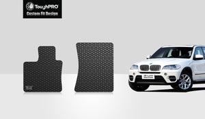 BMW X5 2008 Two Front Mats