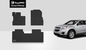 CHEVROLET Equinox 2012 1st & 2nd Row