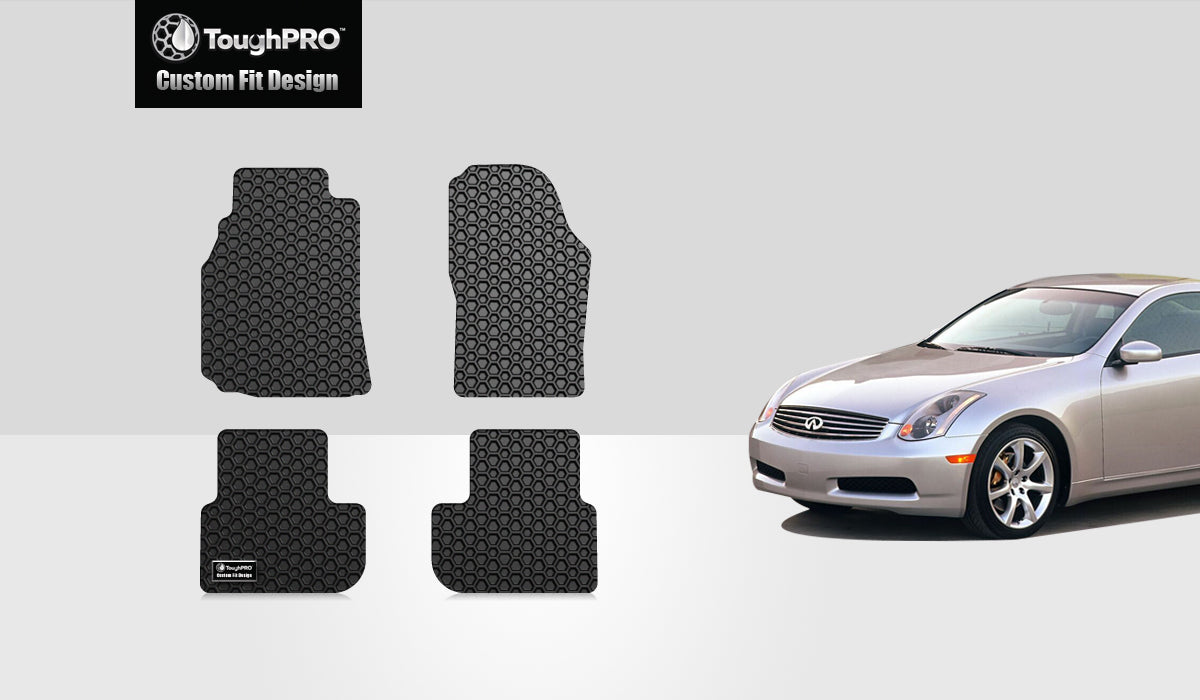 INFINITI G35 2004 Floor Mats Set Coupe Model