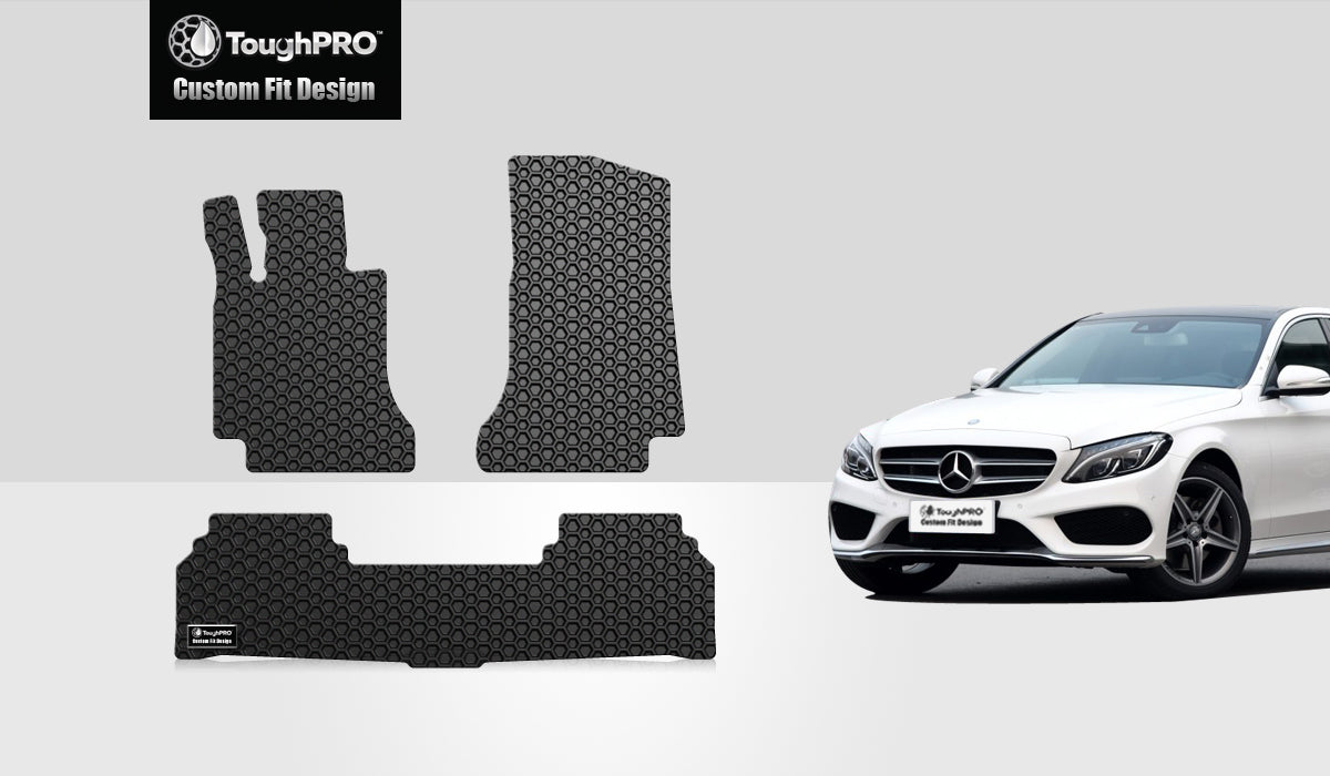 MERCEDES-BENZ C63 AMG S 2019 Floor Mats Set Coupe Model