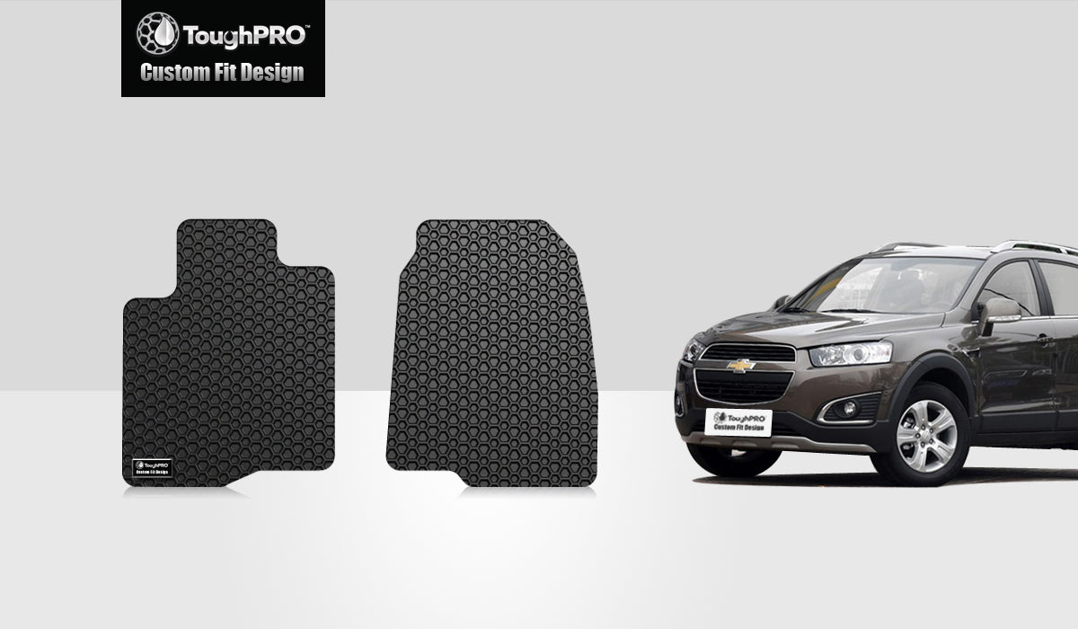 CHEVROLET Captiva 2014 Two Front Mats