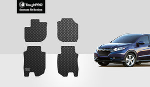 HONDA Fit 2017 Floor Mats Set