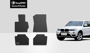 BMW X3 2016 Floor Mats Set