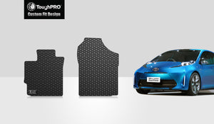 TOYOTA Prius C 2017 Two Front Mats