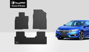 HONDA Civic 2019 1st & 2nd Row Sedan Model