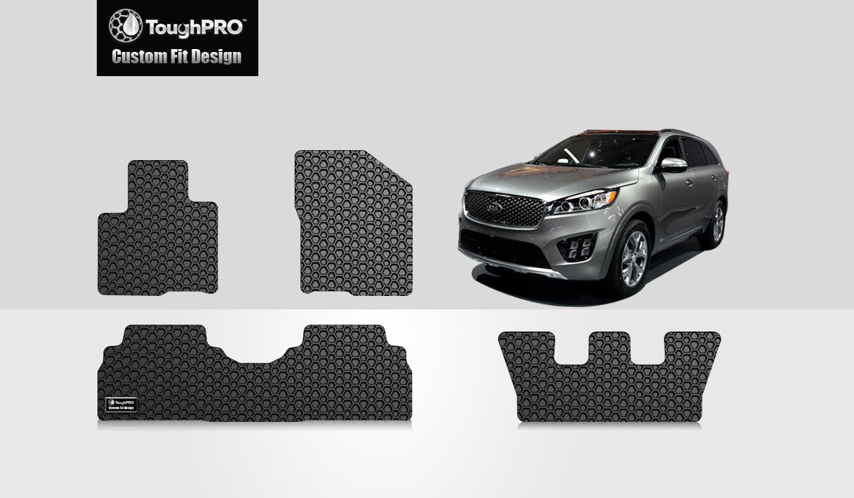 KIA Sorento 2018 1st & 2nd & 3rd Row Mat Set