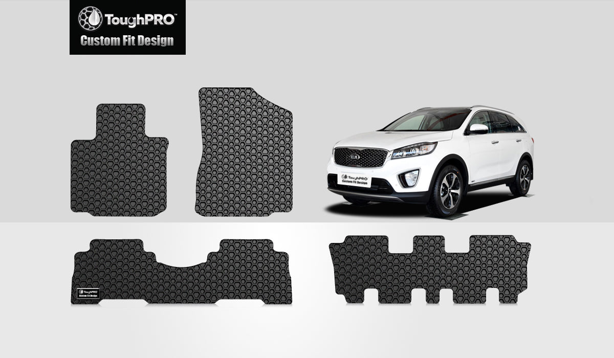 KIA Sorento 2015 1st & 2nd & 3rd Row Mat Set