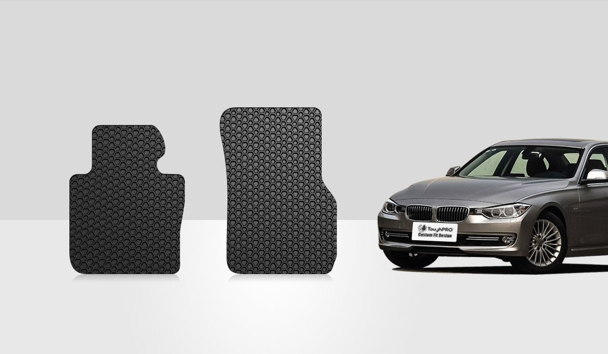 BMW 328i 2013 Two Front Mats Xdrive & Coupe Model