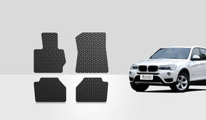 BMW X3 2009 Floor Mats Set