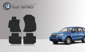 SUBARU Forester  2014 1st & 2nd Row