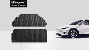 TESLA Model X 2021 Front Trunk Mat And Trunk Mat 7 Seater