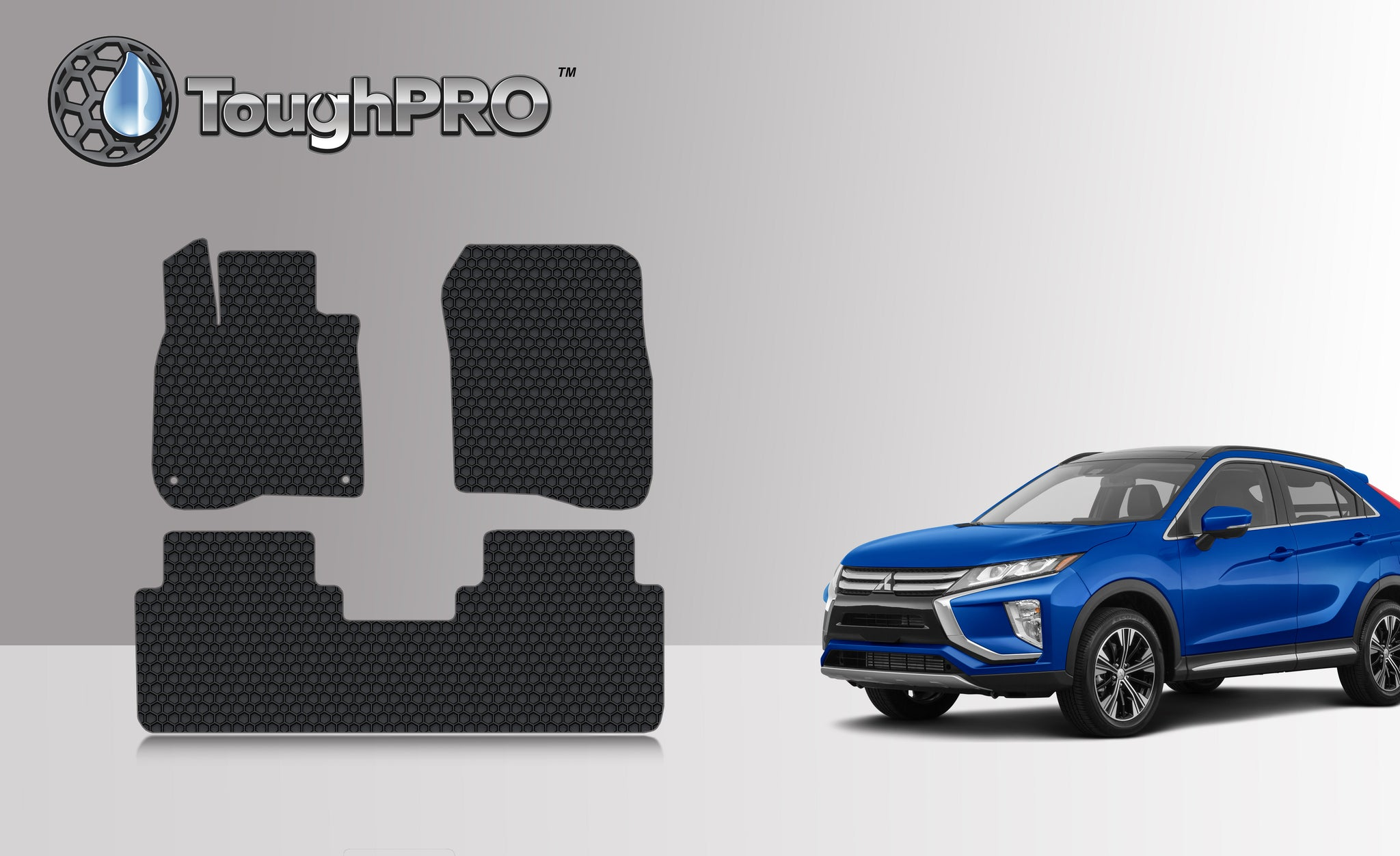 HONDA CRV 2017 Floor Mats Set