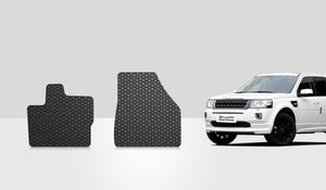 LAND ROVER  / RANGE ROVER LR2 2014 Two Front Mats