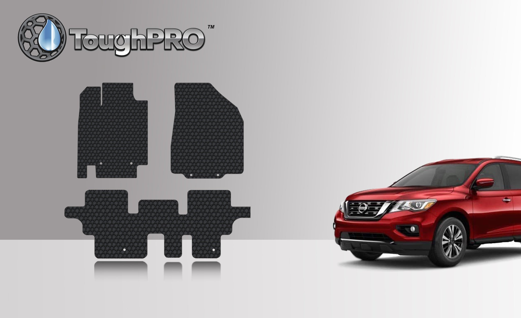 NISSAN Pathfinder 2016 1st & 2nd Row
