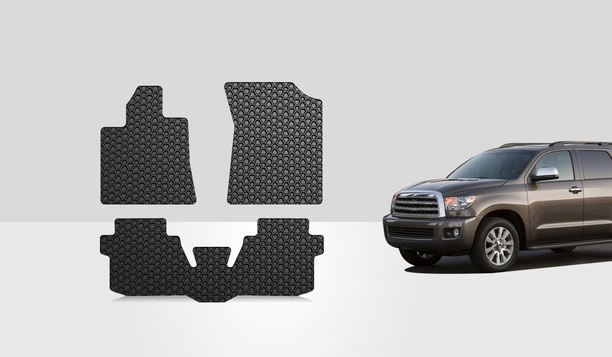 TOYOTA Sequoia 2015 1st & 2nd Row