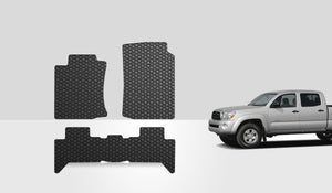 TOYOTA Tacoma 2013 1st & 2nd Row Double Cab