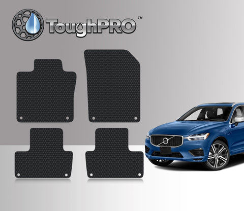 Volvo XC60 2018 Floor Mat Set (Front Row and 2nd Row)