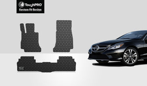 MERCEDES-BENZ E63 AMG 2019 Floor Mats Set Sedan Model