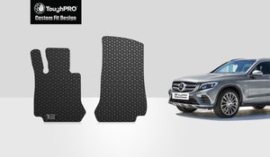 MERCEDES-BENZ GLC43 AMG 2019 Two Front Mats Coupe Model