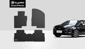 HYUNDAI Sonata 2015 Floor Mats Set Hybrid Model