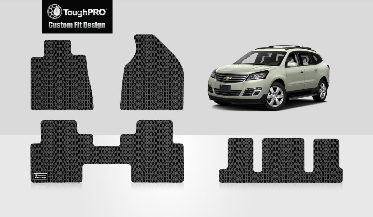 CHEVROLET Traverse 2013 Front Row  2nd Row  3rd Row 2nd Row  BUCKET SEATING