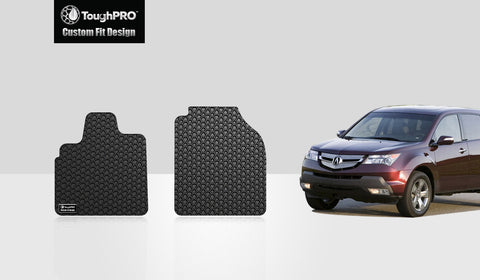 ACURA MDX 2006 Two Front Mats
