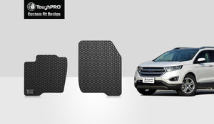 FORD Edge 2015 Two Front Mats