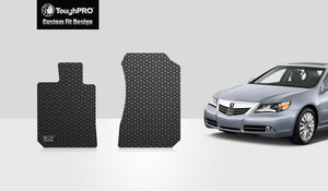 ACURA RL 2012 Two Front Mats