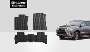 LEXUS GX460 2017 Floor Mats Set