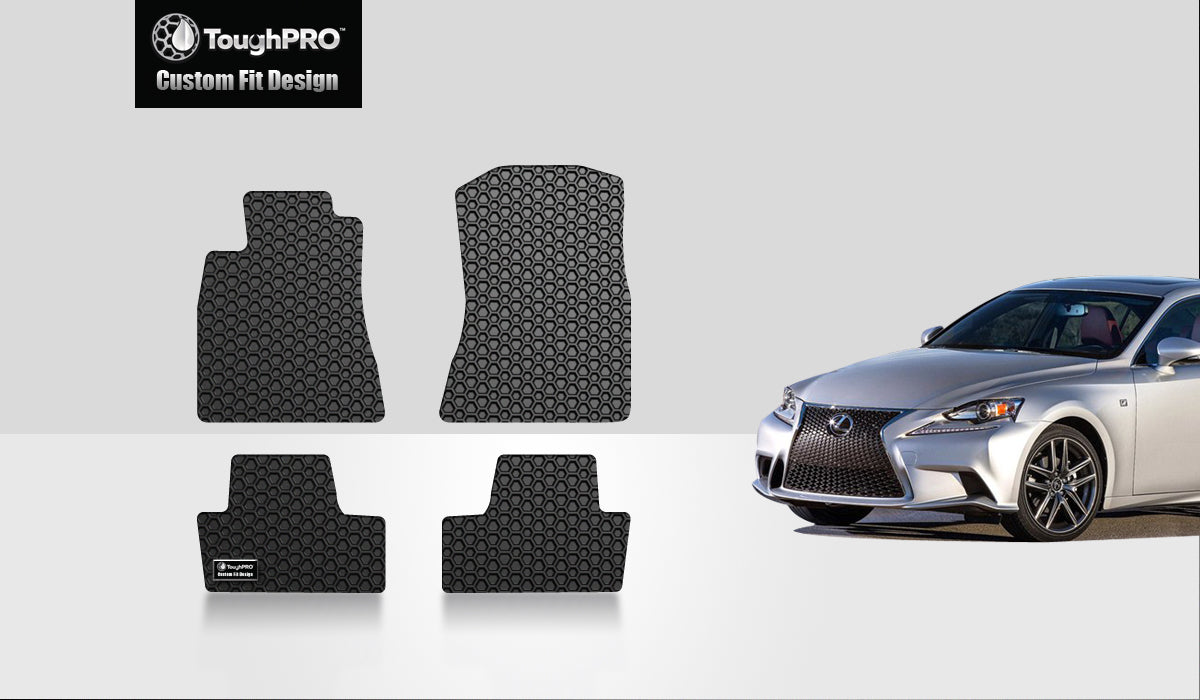 LEXUS IS250 2010 Floor Mats Set RWD (Rear Wheel Drive)