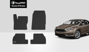 FORD Focus 2016 Floor Mats Set Not For Focus RS Model