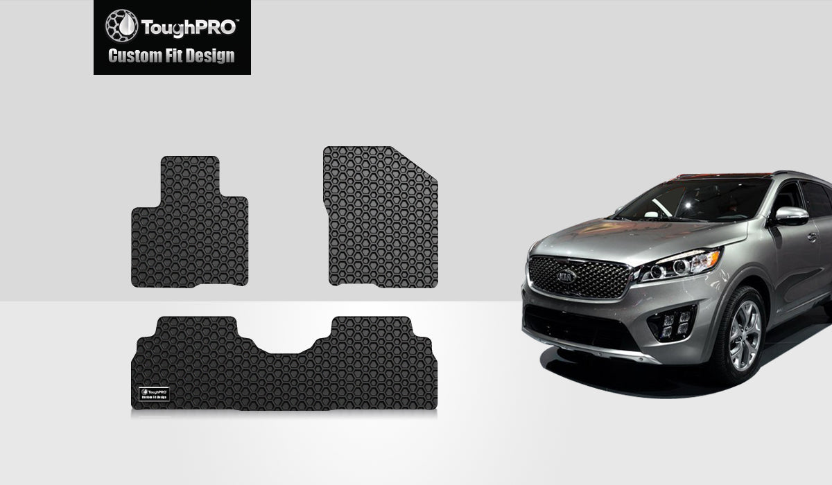 KIA Sorento 2017 1st & 2nd Row Mat Set