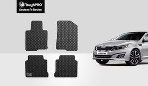 KIA Optima 2019 1st & 2nd Rows Mat Set