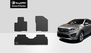 KIA Sorento 2016 1st & 2nd Row Mat Set