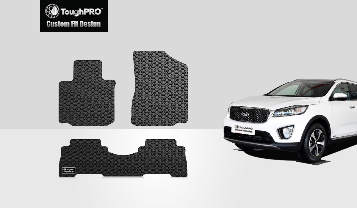 KIA Sorento 2015 1st & 2nd Row Mat Set