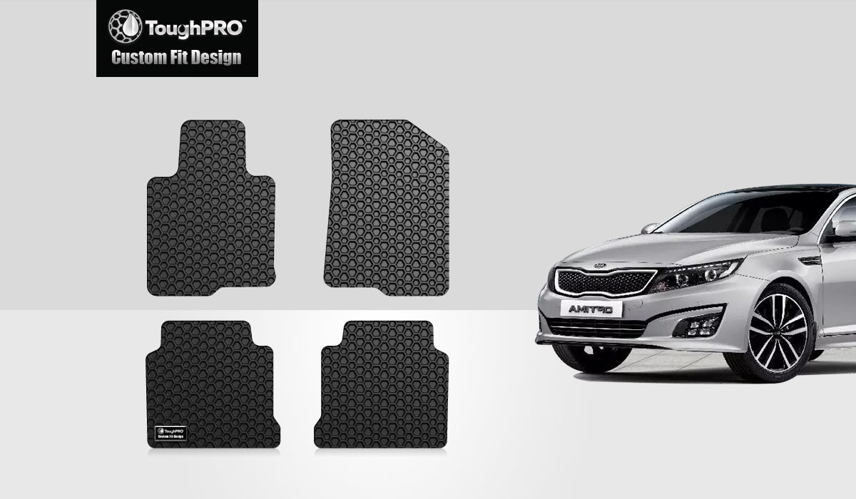 KIA Optima 2017 1st & 2nd Rows Mat Set